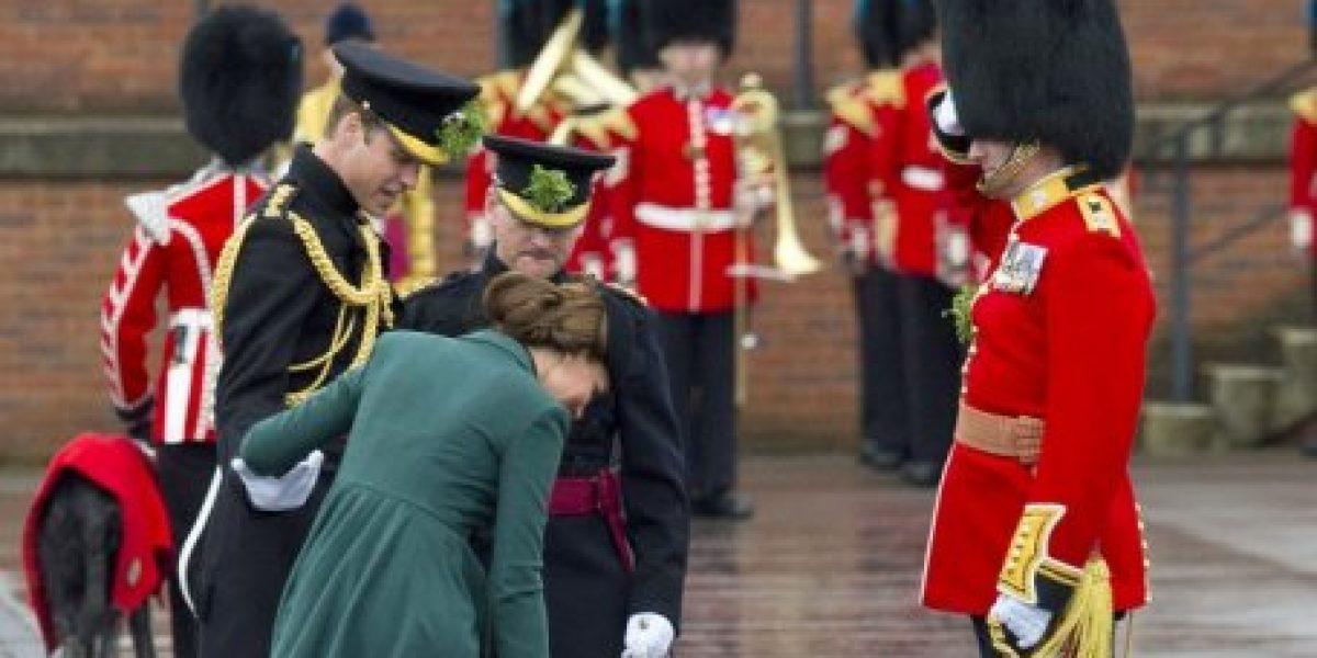Kate Middleton sufrió percance durante visita oficial