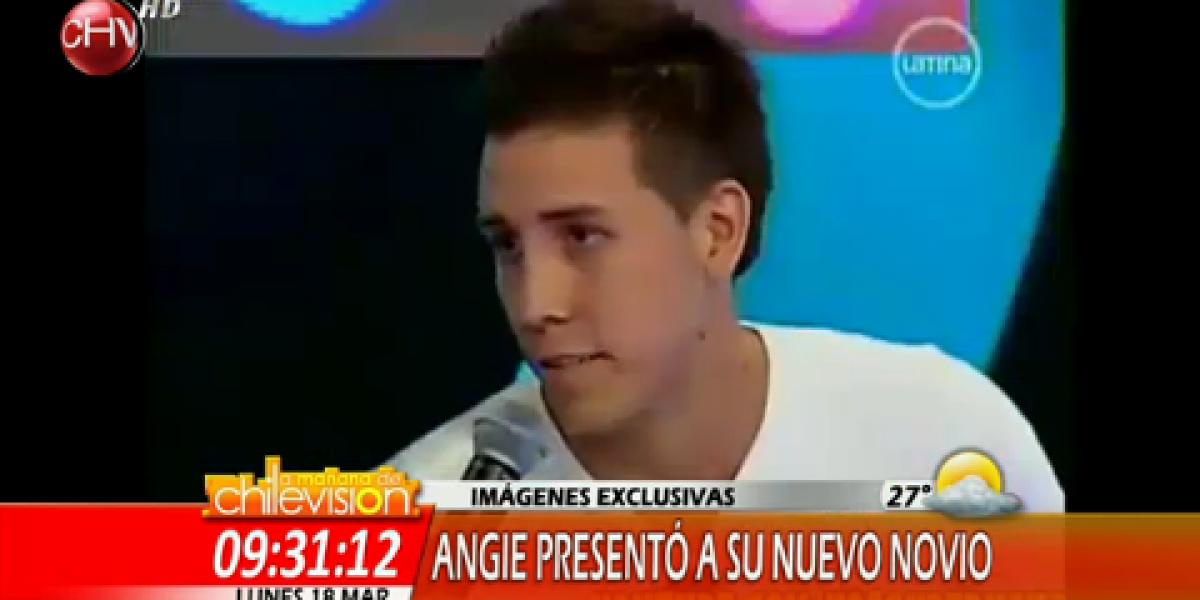 Angie Jibaja presenta a su nueva pareja en programa peruano