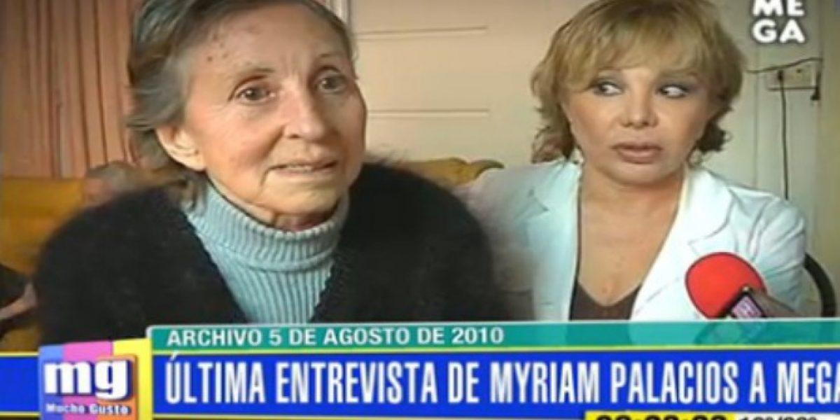 Mónica De Calixto tras muerte de Myriam Palacios: