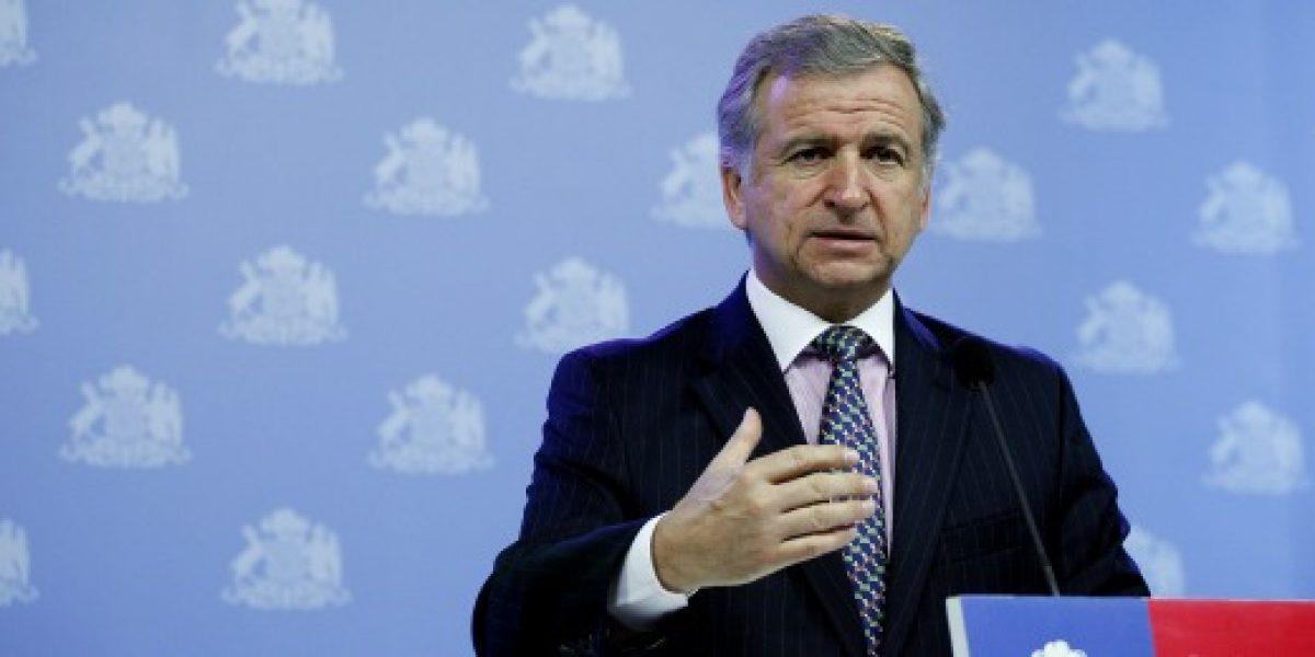 Larraín anuncia proyecto de salario mínimo de $205 mil