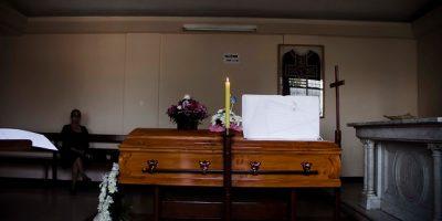 En Parroquia Santa Gemita son velados los restos de Myriam Palacios