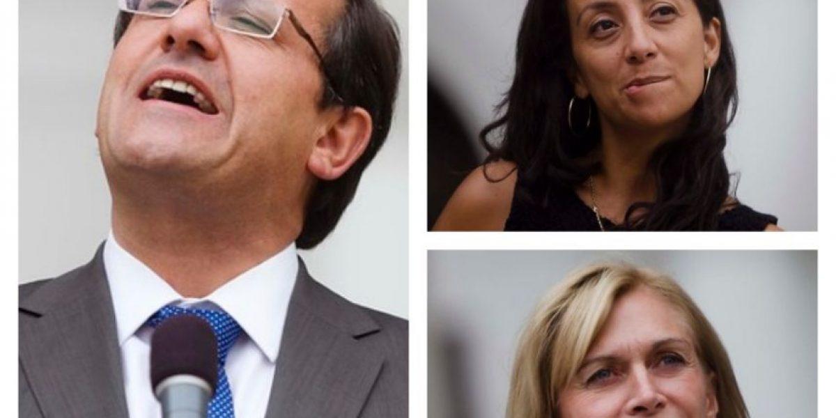 [FOTOS] Las caras de La Moneda tras la acusación constitucional contra Beyer
