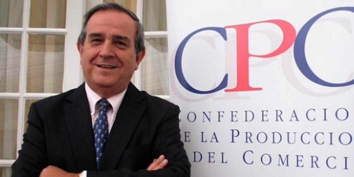 Andrés Santa Cruz es elegido como nuevo presidente de la CPC