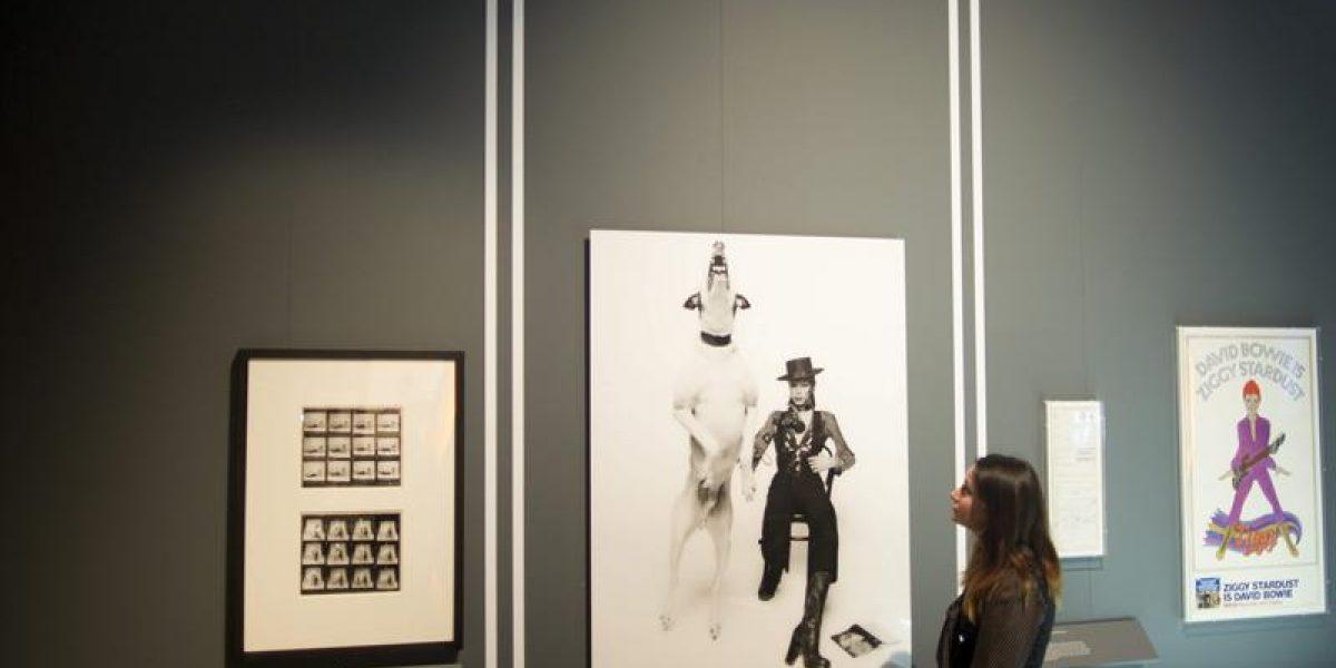 Muestra en Londres: Los mil rostros de David Bowie