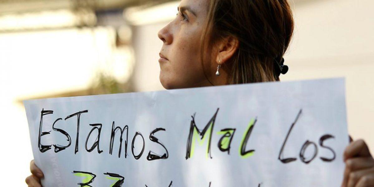 Funcionarios protestan contra Piñera en medio de anuncio de nuevas patologías Auge