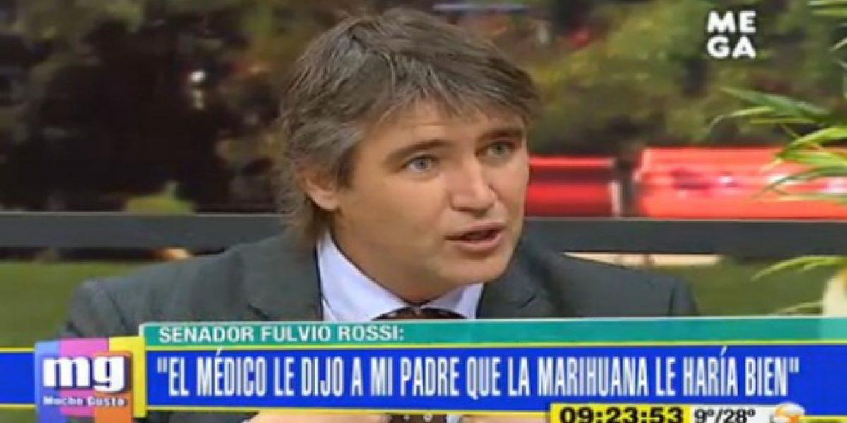 Fulvio Rossi reitera su posición a favor del consumo de marihuana
