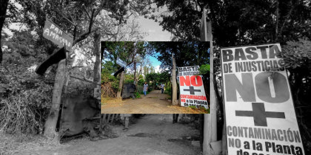 Comunidad demanda a empresa de agua potable por daños de aguas servidas