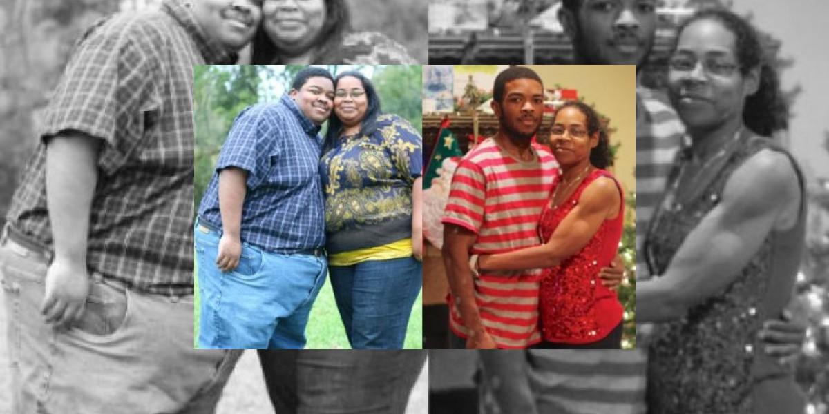 Pareja logra bajar más 226 kilos en dos años
