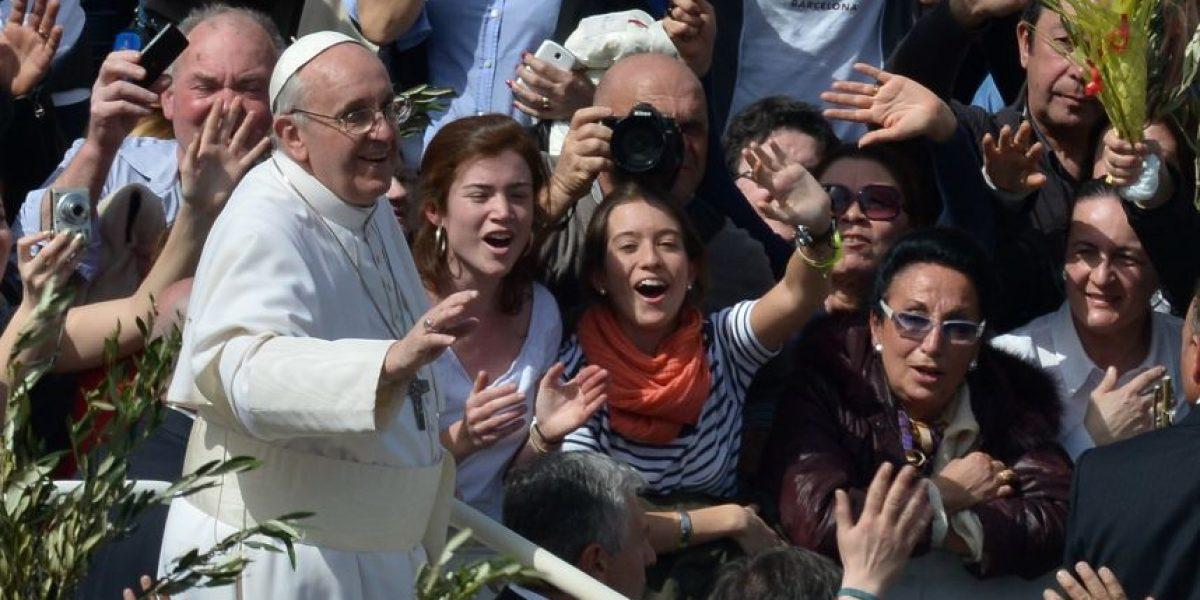 Papa Francisco celebra su primer domingo de ramos y confirma su visita a Brasil