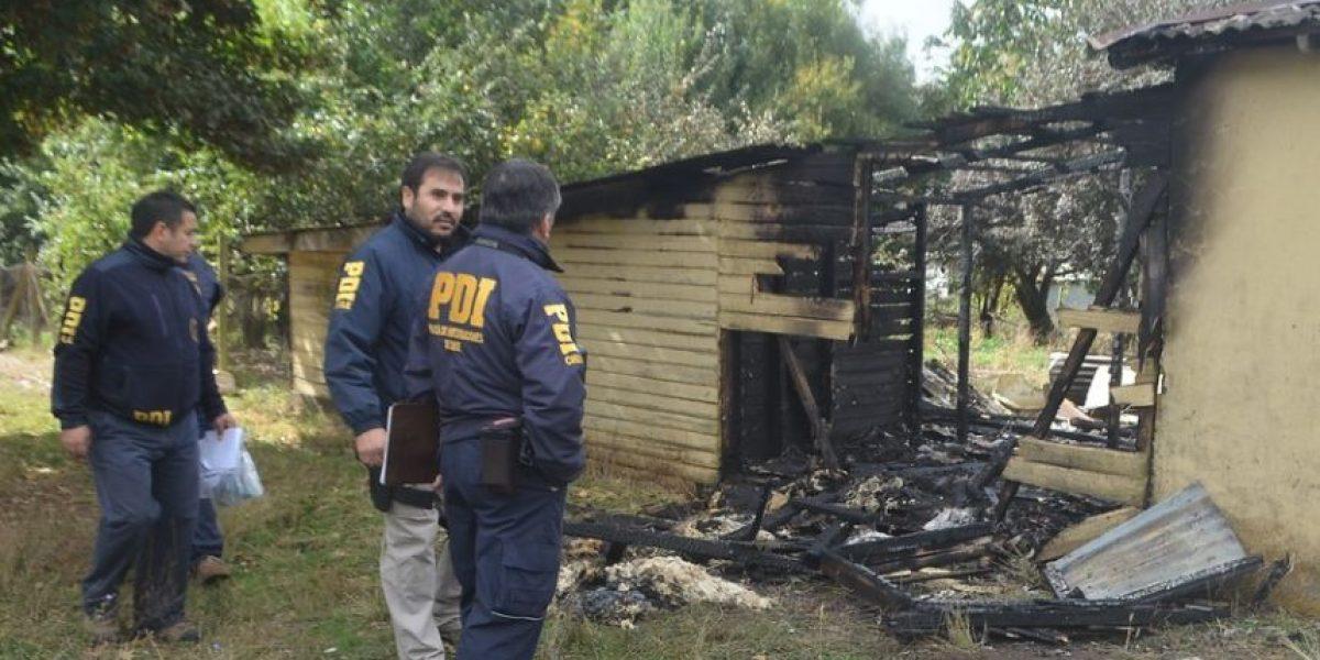 Indagan nuevo atentado incendiario en la Región de la Araucanía