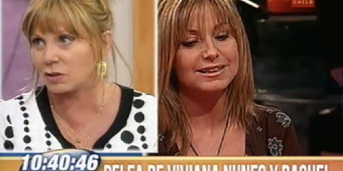 Raquel Argandoña no quiere hablar de Viviana Nunes: