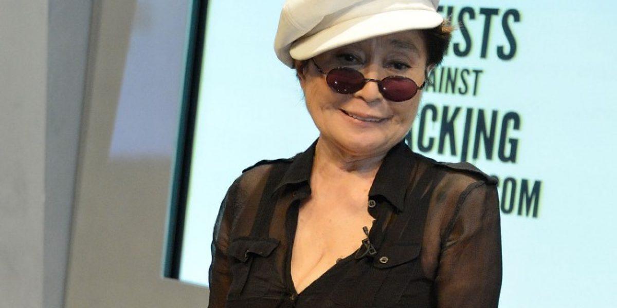 Diseñadora neoyorquina acusa a Yoko Ono de copiar sus diseños