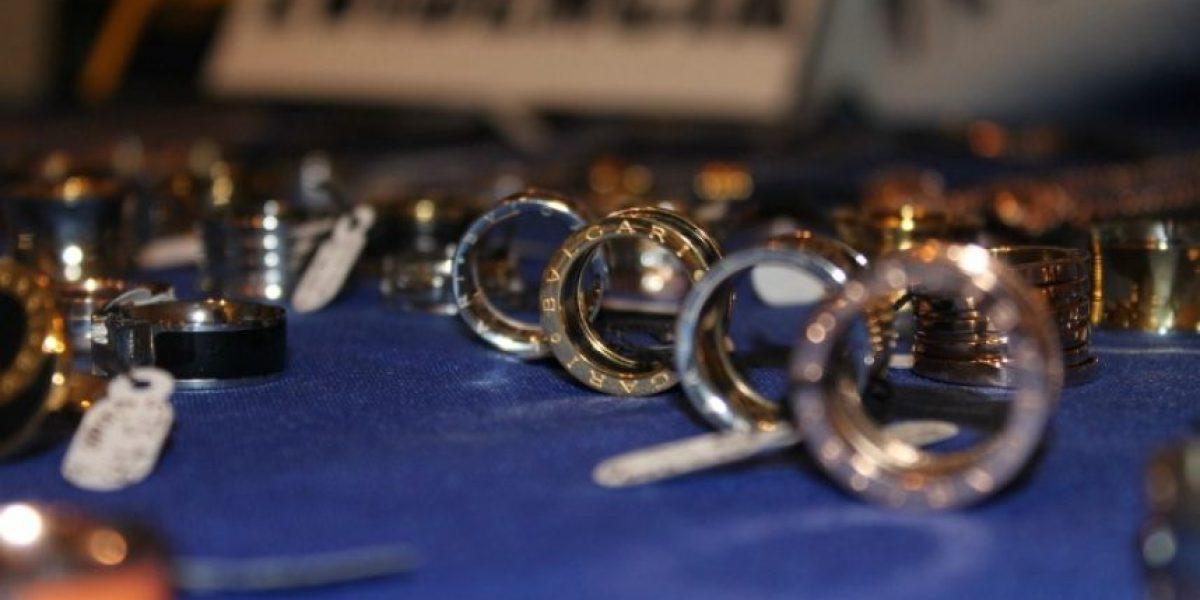 [FOTOS] PDI descubre que en tienda de mall vendían joyas falsificadas