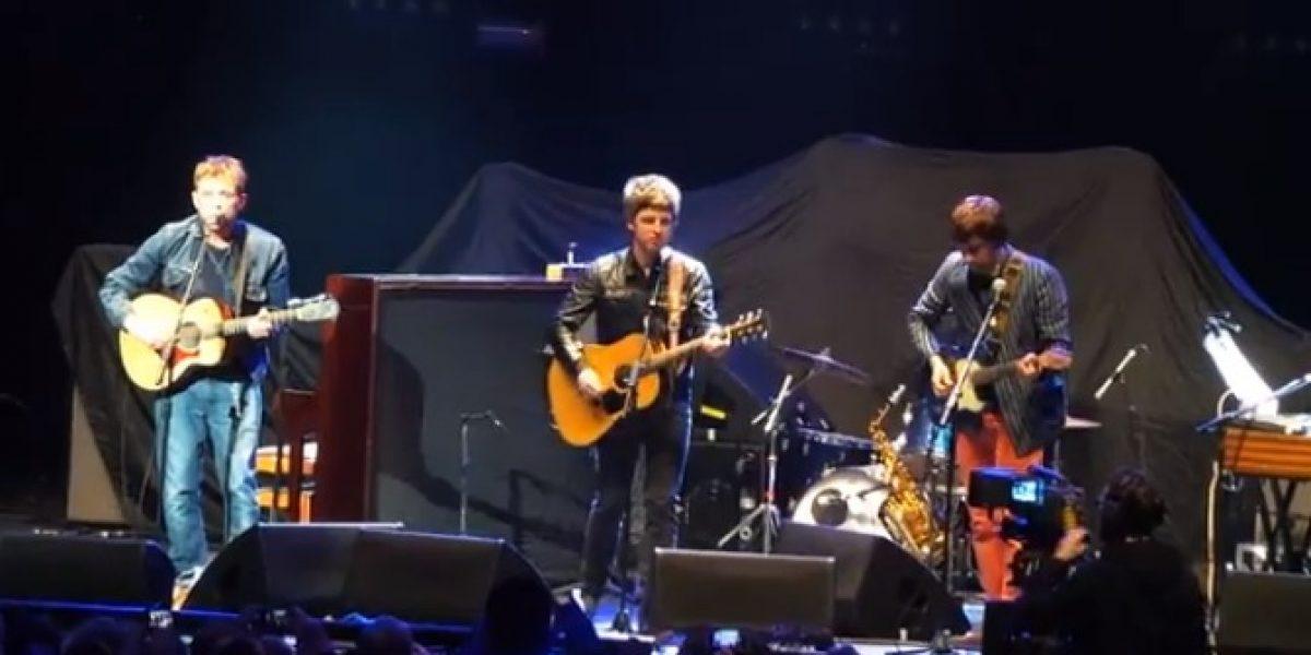 Liam Gallagher indignado con su hermano por tocar junto a Blur