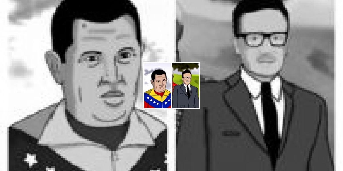 Spot animado recrea encuentro de Chávez y Allende en el cielo