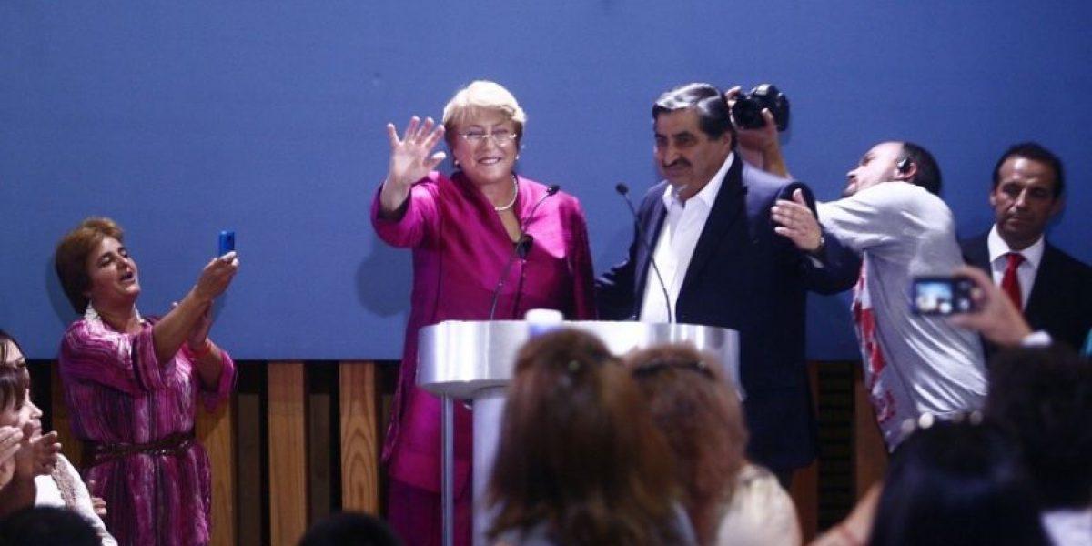 [FOTOS] El día de Michelle Bachelet en imágenes