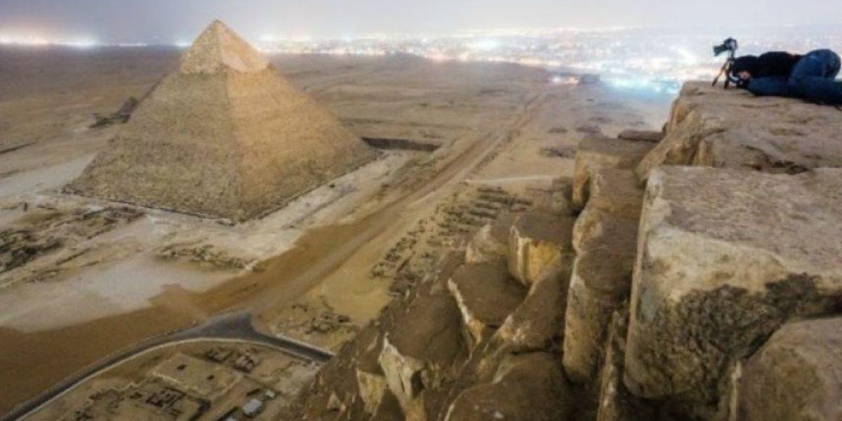 [FOTOS] Ruso arriesga cárcel por impresionantes imágenes de las pirámides de Egipto