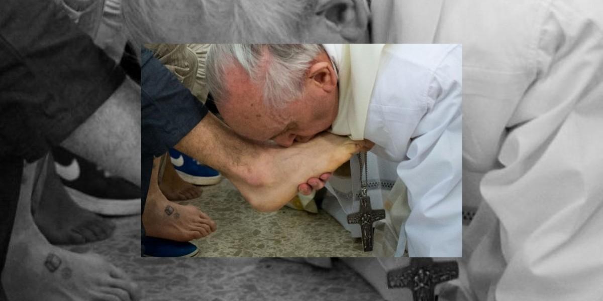 Papa Francisco vuelve a realizar un gesto sin precedentes