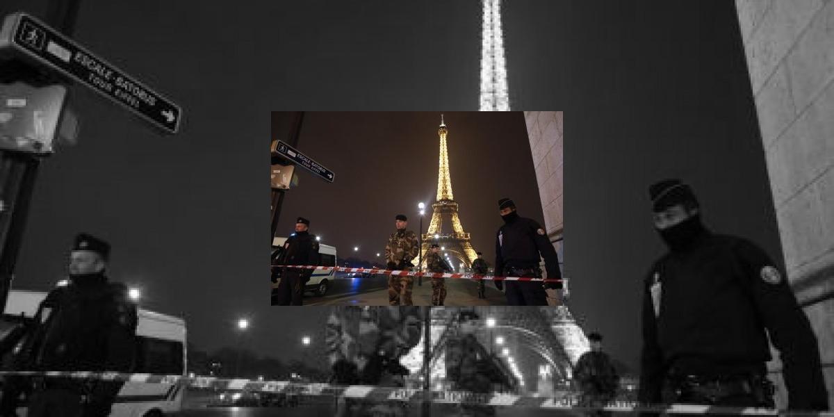 Evacúan la Torre Eiffel por amenaza telefónica de bomba