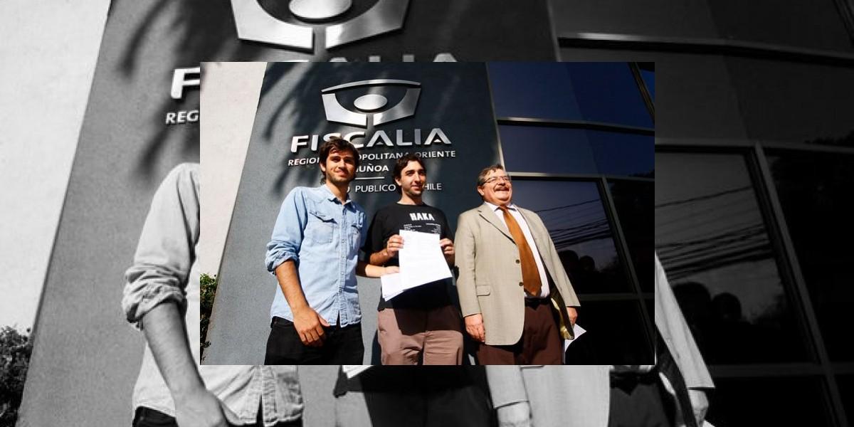 Estudiantes presentan denuncia contra el ministro Beyer por fraude al Fisco