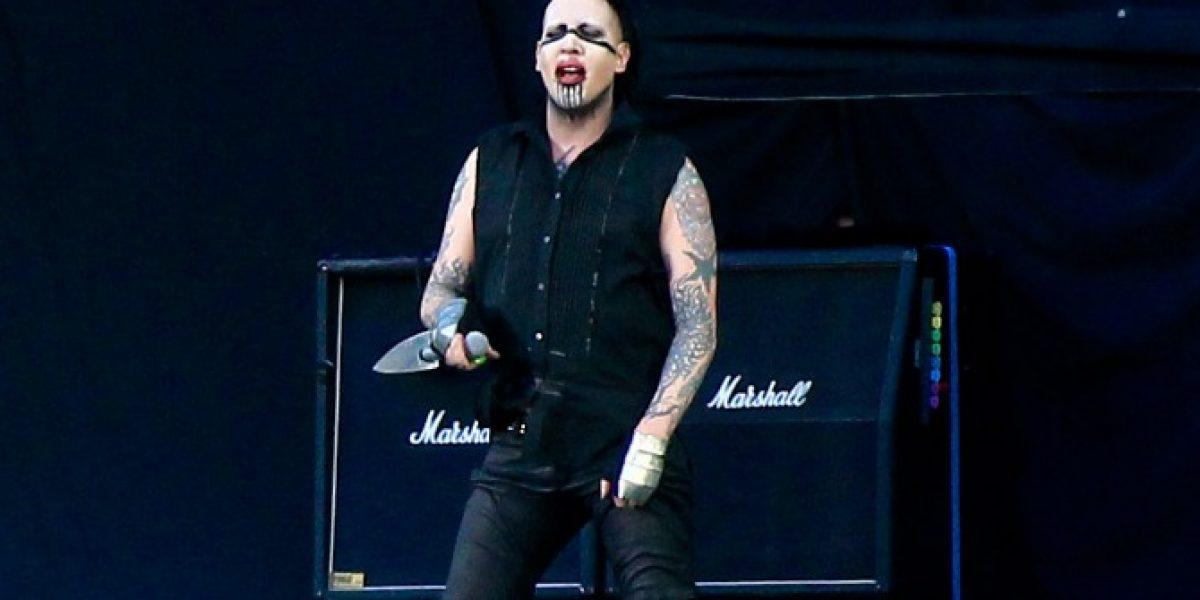 Marilyn Manson es el nuevo rostro masculino de
