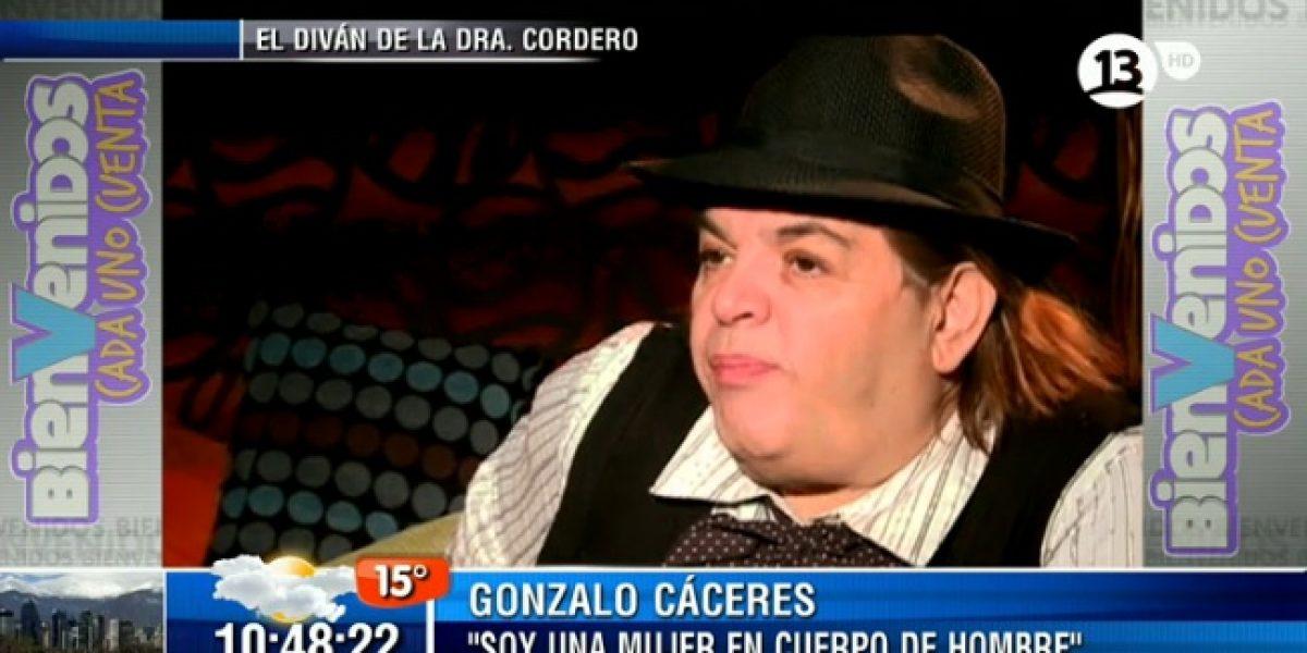 Gonzalo Cáceres se confiesa:
