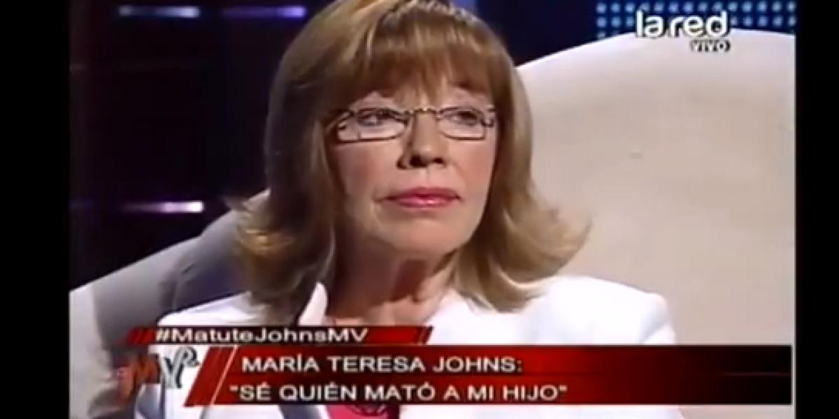 Madre de Jorge Matute Johns: