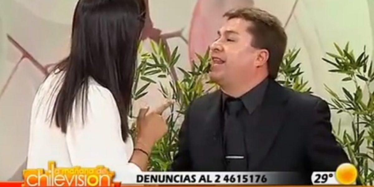 [VIDEO] Pastor Cid perdió el control con