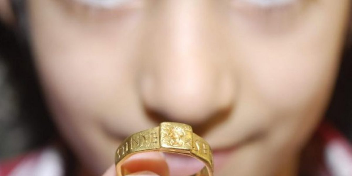 [FOTOS] El anillo que habría inspirado la célebre saga de Tolkien