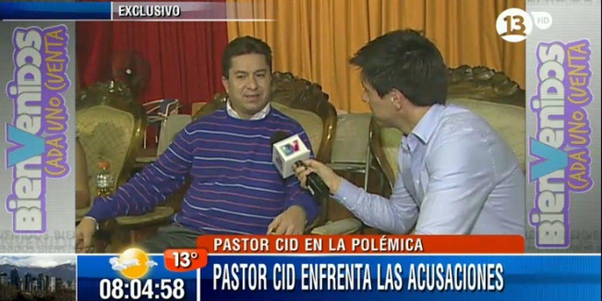Pastor Cid anuncia que se quiere morir en La Moneda