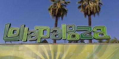Video: Así va el montaje de Lollapalooza a tres días de su inicio
