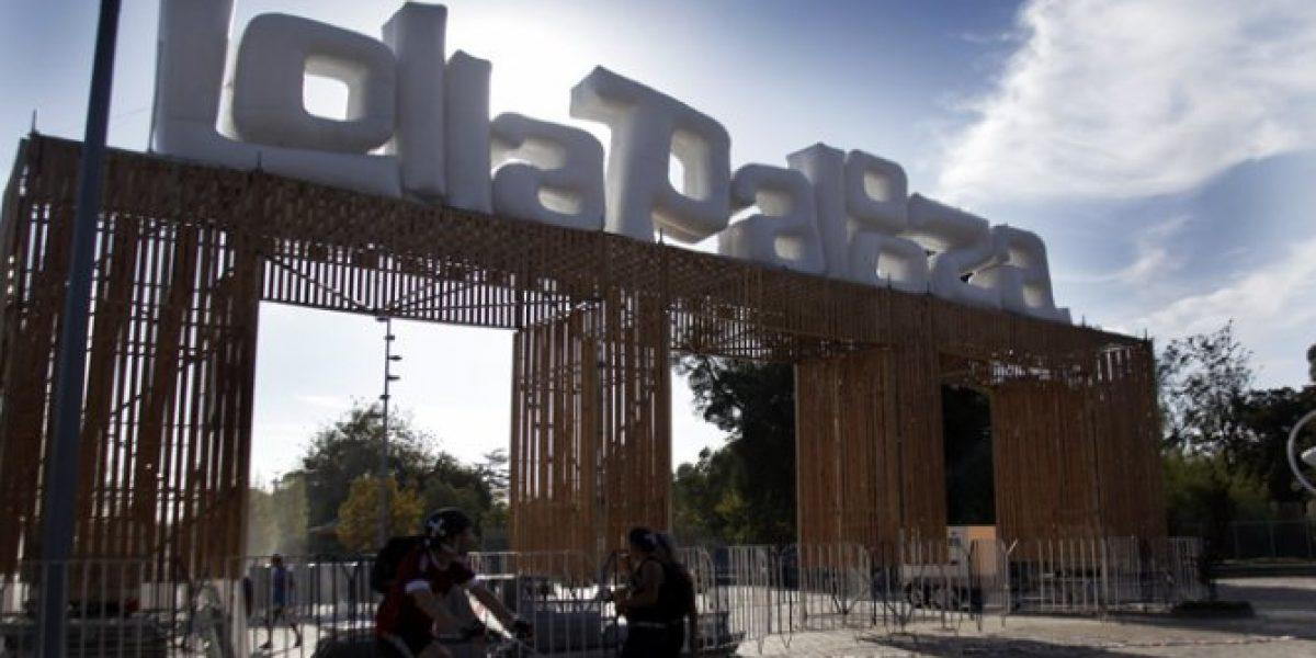 [FOTOS] Así está el escenario de Lollapalooza a días de su inicio
