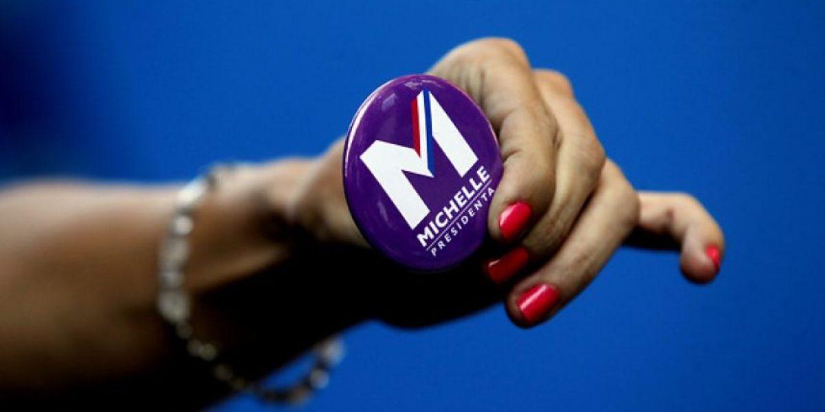 Comando de Bachelet estrena sitio web y nuevo logo de campaña