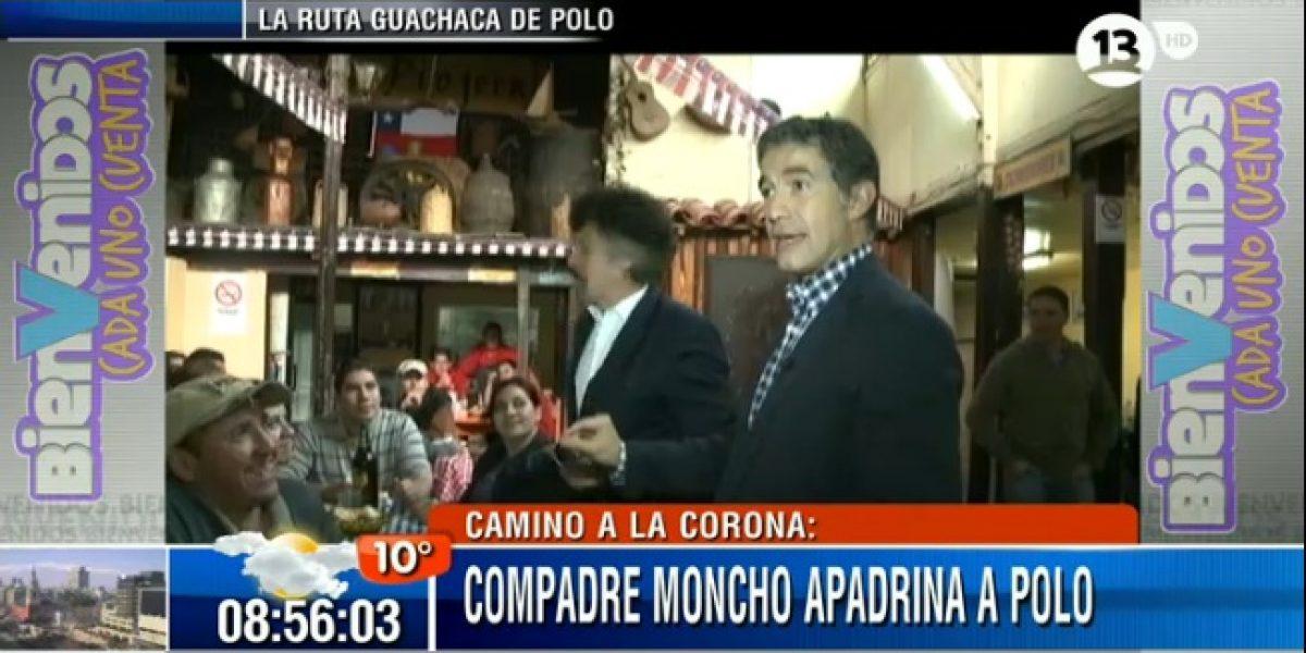 Polo Ramírez hace campaña para ser Rey Guachaca en La Piojera
