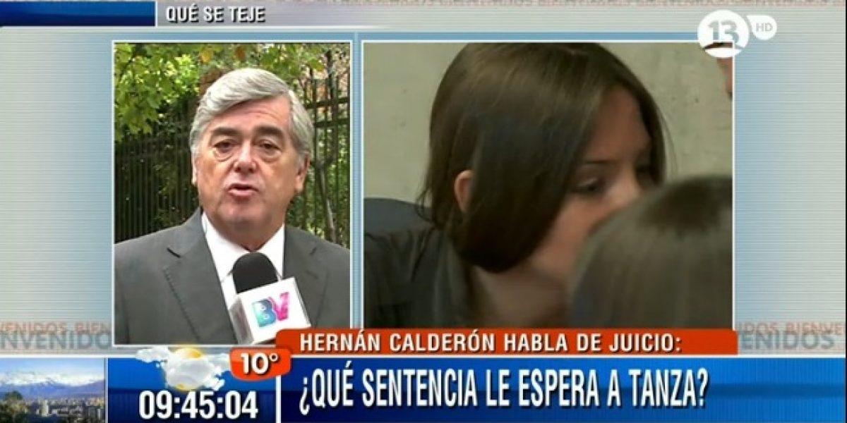 Hernán Calderón aclara sentencia de Tanza Varela por dichos contra su hija