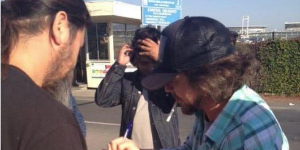 Pearl Jam ya está en Chile para encabezar Lollapalooza