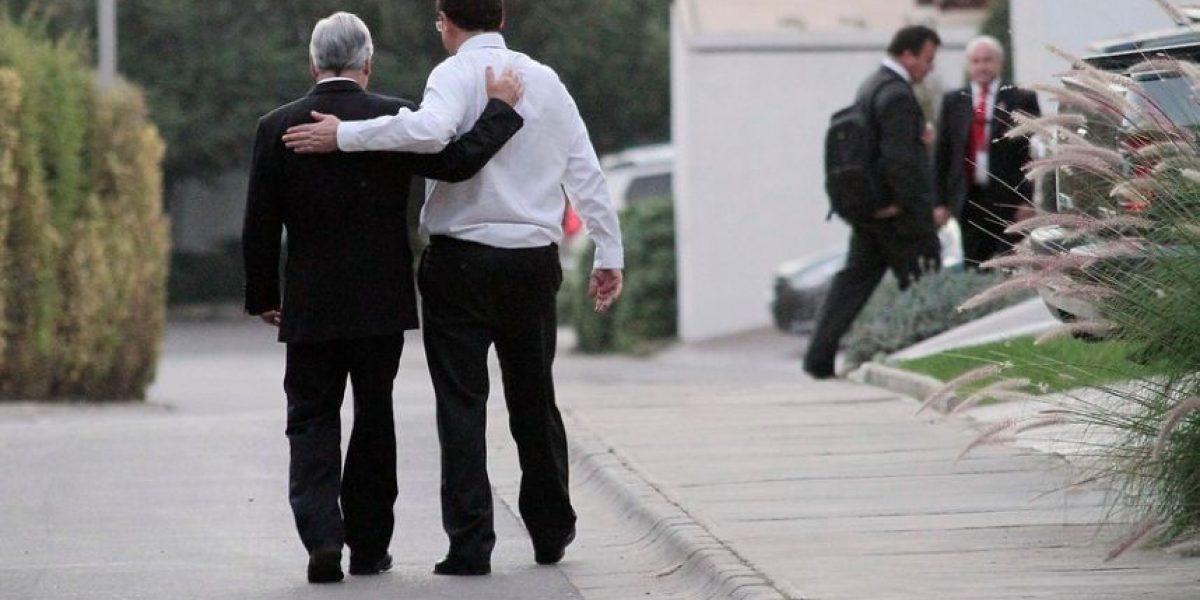 [FOTOS] La afectuosa visita de Piñera a Beyer en su casa