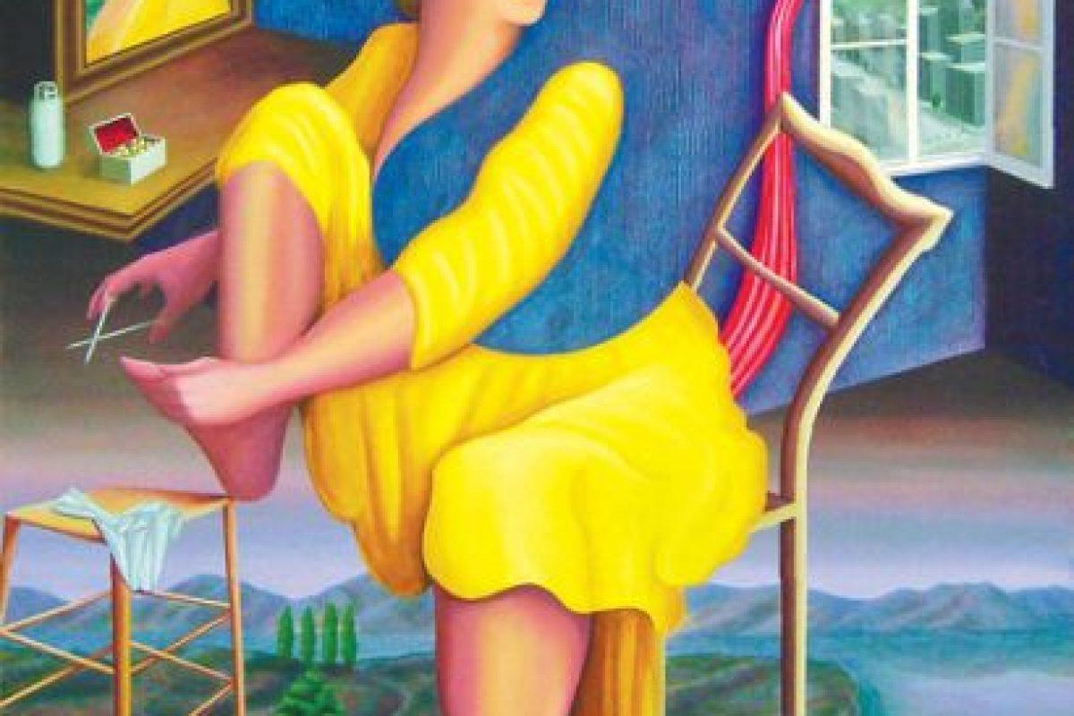 """Obra """"Aseo personal"""" Foto:Agencia Uno. Imagen Por:"""