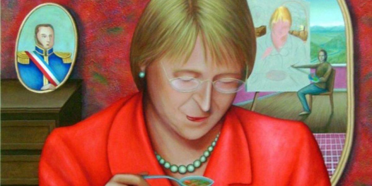[FOTOS] Las obras que retratan a Bachelet y otras presidentas de la región