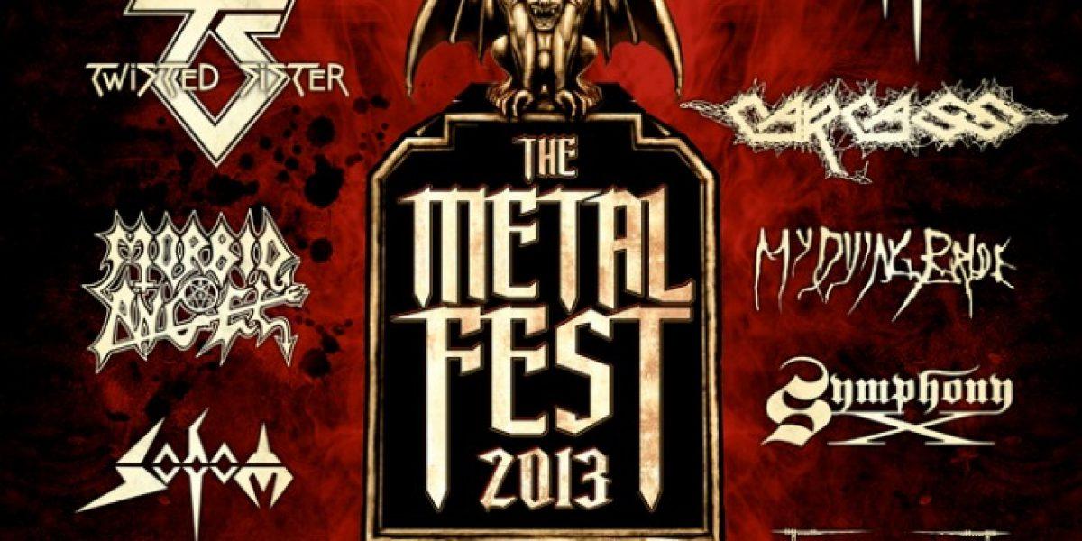 The Metal Fest brinda descuento especial para concierto de Black Sabbath y Megadeth en Chile