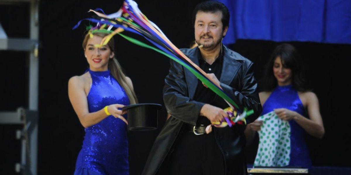 El Mago Oli pone su toque de magia en Kidzapalooza