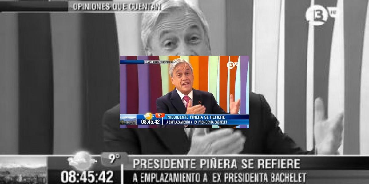 Presidente Piñera sobre Bachelet: