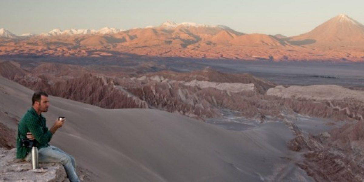 Más de 1 millón de turistas recibió Chile durante primer trimestre de 2013