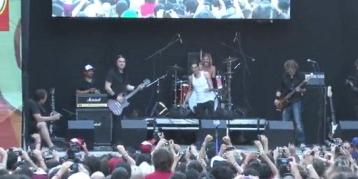 Revisa el paso del baterista de Foo Fighters en Kidzapalooza con Perry Farrell