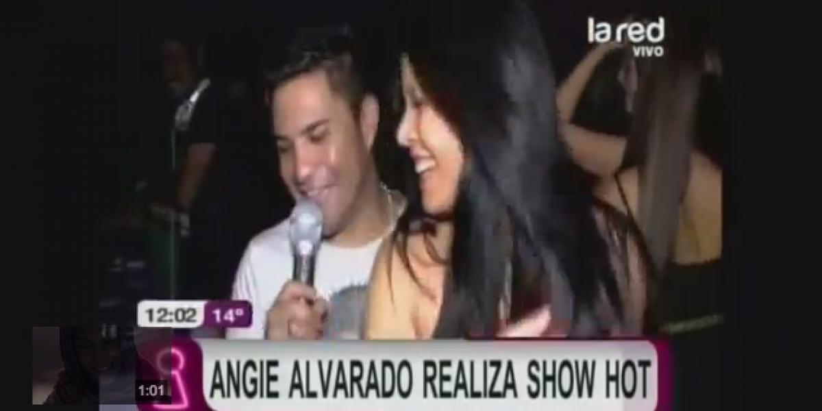Angie Alvarado a lo Vale Roth: Hija de Anita protagonizó encendido evento
