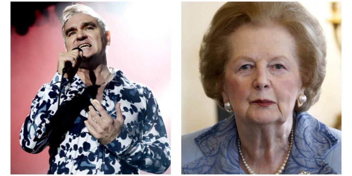 Morrissey envía dura carta contra Margaret Thatcher a diario de EEUU