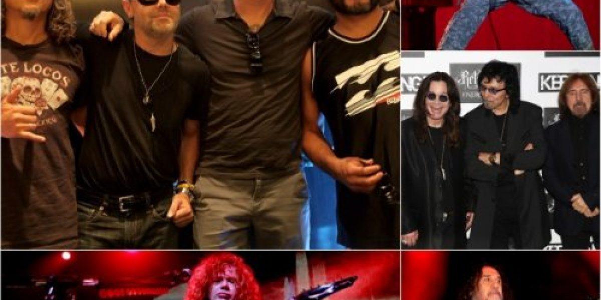 Desembarco rock en primavera: Metallica, Iron Maiden y Slayer en Chile