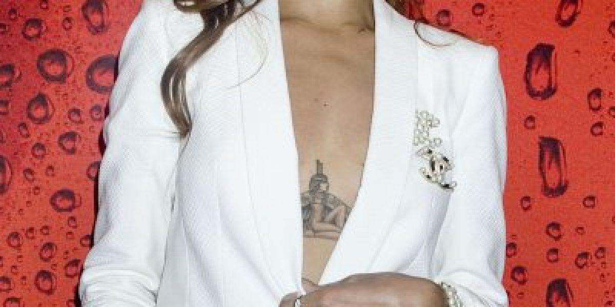 Rihanna y su sexy atuendo tras terminar con Chris Brown