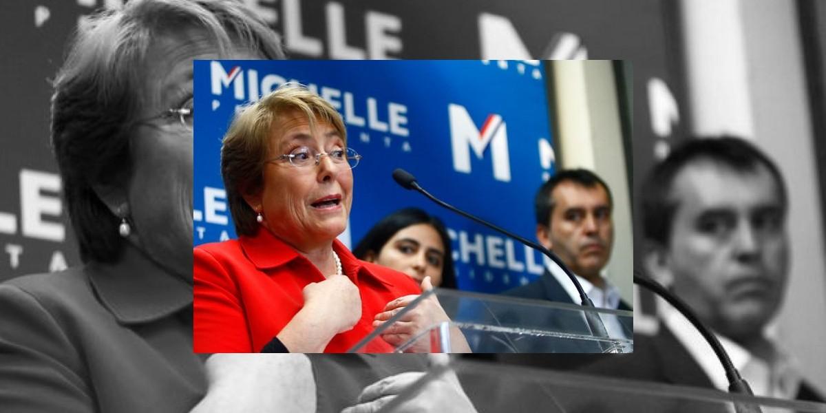 "Bachelet no ""pasó"" pero igual recibió críticas de adversarios"