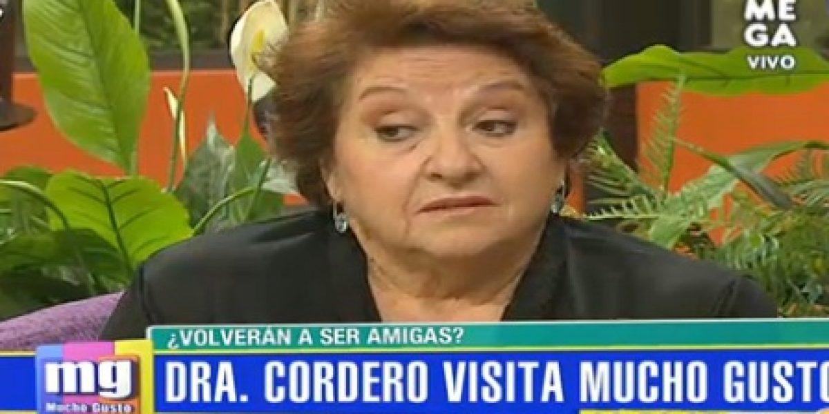 Dra. Cordero aparece en